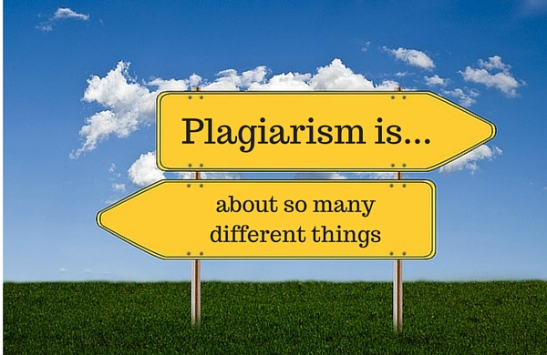 Plagiarism Means Different Things to Different People