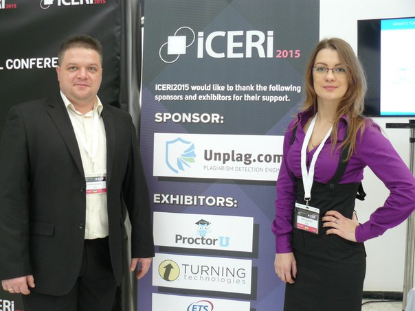 We Did It: Our Successful Participation in the International Event ICERI 2015