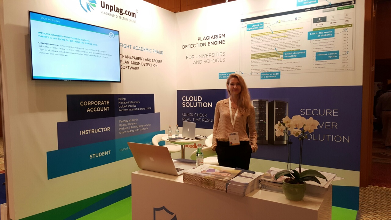 Unplag at EdTech MENA 2015