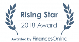 Unicheck received rising star award 2018