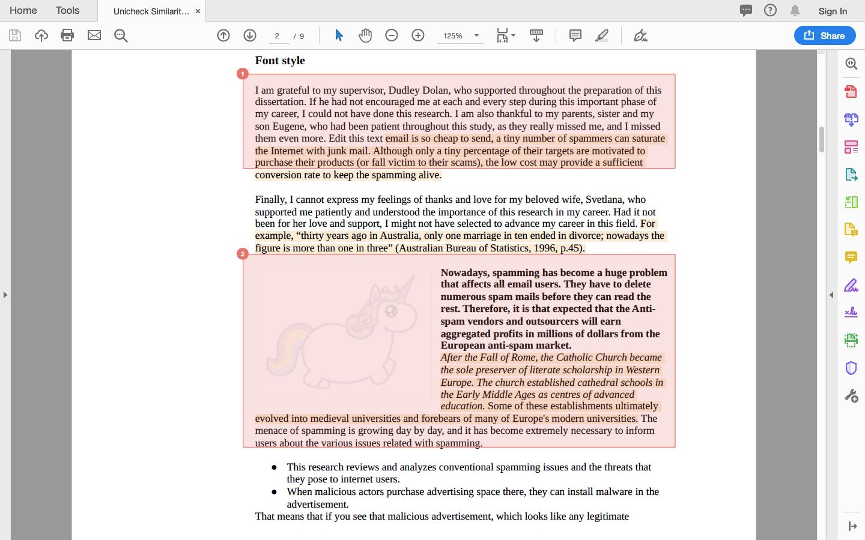 PDF report 2